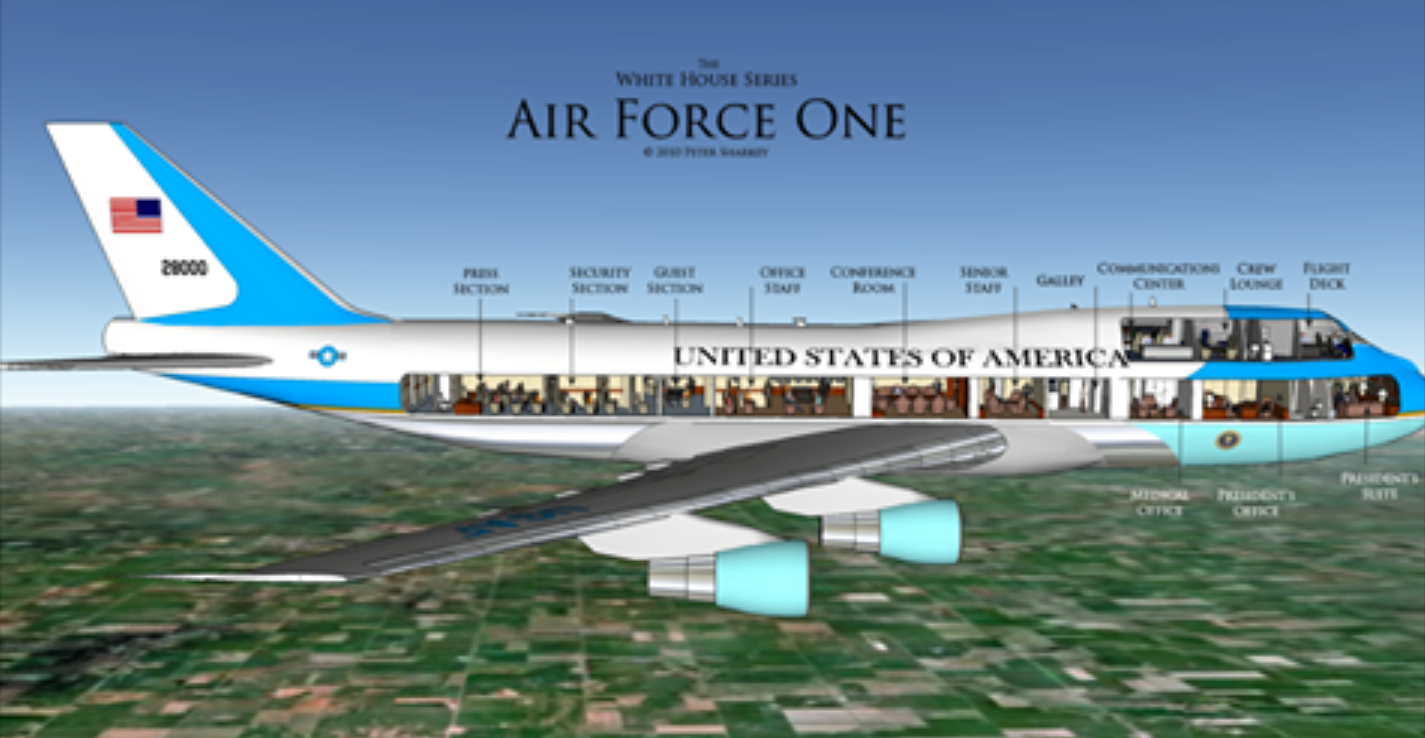 Air Force One Layout Bing Images