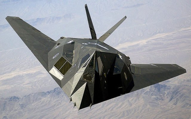 Lockheed F-117 Nighthawk Image Source: Wikipedia
