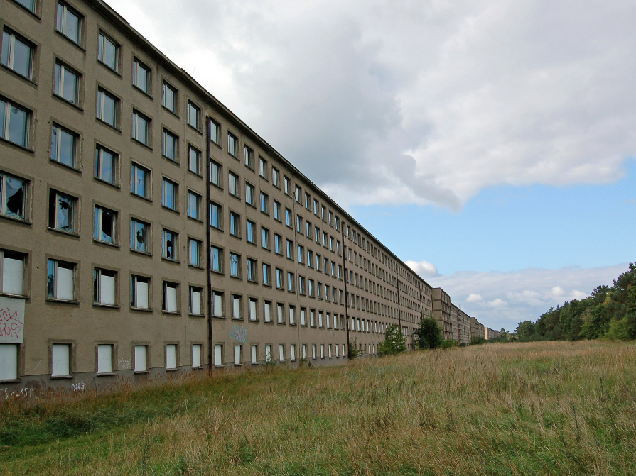 """While the Nazi police state was in development, the overarching German vision was a hopeful one, Moorhouse tells us.. """"And this is where something like Prora comes in."""""""