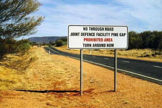 Pine Gap, Australia