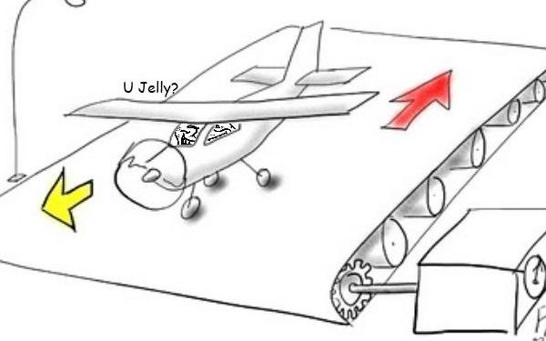 A Plane On A Conveyor Belt Is Moving In The Opposite Direction. Can It Take Off?