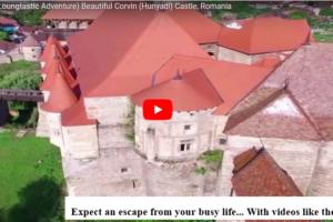 WATCH: (Loungtastic Adventure) Beautiful Corvin (Hunyadi) Castle, Romania
