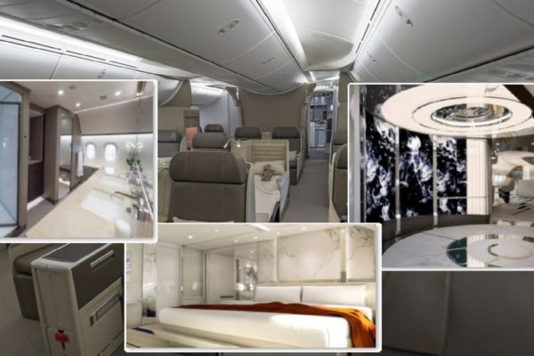 What's Inside the Most Tricked-Out Private Jumbo Jets?