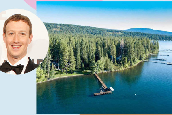 Inside Mark Zuckerberg's $59 Million Lake Tahoe Compound