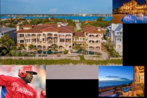 Phillies Great Ryan Howard $16.5M Waterfront Mansion Sells!