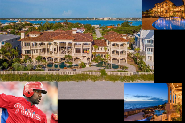 Phillies Great Ryan Howard $16.5M Waterfront Mansion Sells!