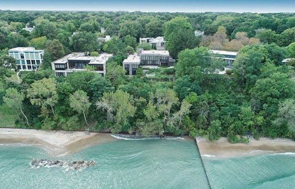 Novelist Scott Turow's Former Illinois Mansion on Lake Michigan Sells for $5.15M