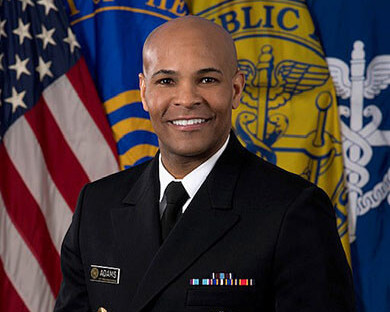 Donald Trump's idiot Surgeon General Jerome Adams has complete meltdown during press conference