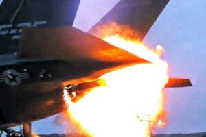 F-35 Sets Itself On Fire Again